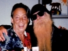 Billy F. Gibbons with Fred several years ago.
