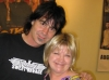What a hunk!  Def Leppard\'s (ex) drum tech, Tod Burr with Joy.