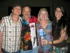 Part of our family - Def Leppard\'s Rick Allen with his beautiful wife Lauren.  Fred and Joy are in the middle.